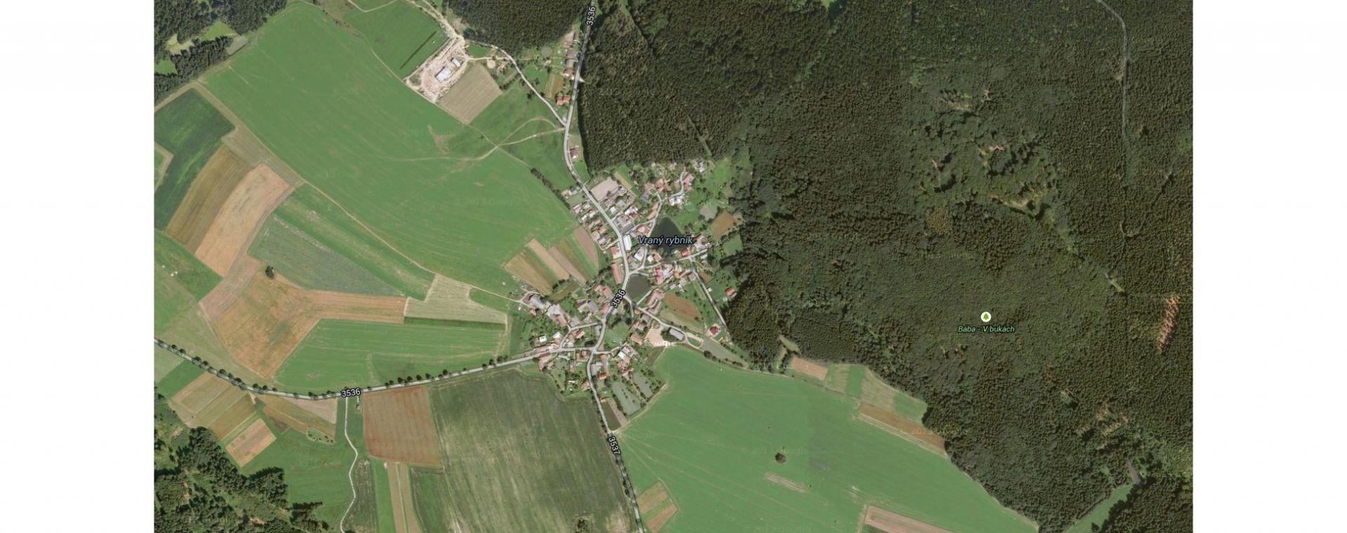 New proposal of masterplan of Bohdalov, Vysočina, 10/2014, CZ