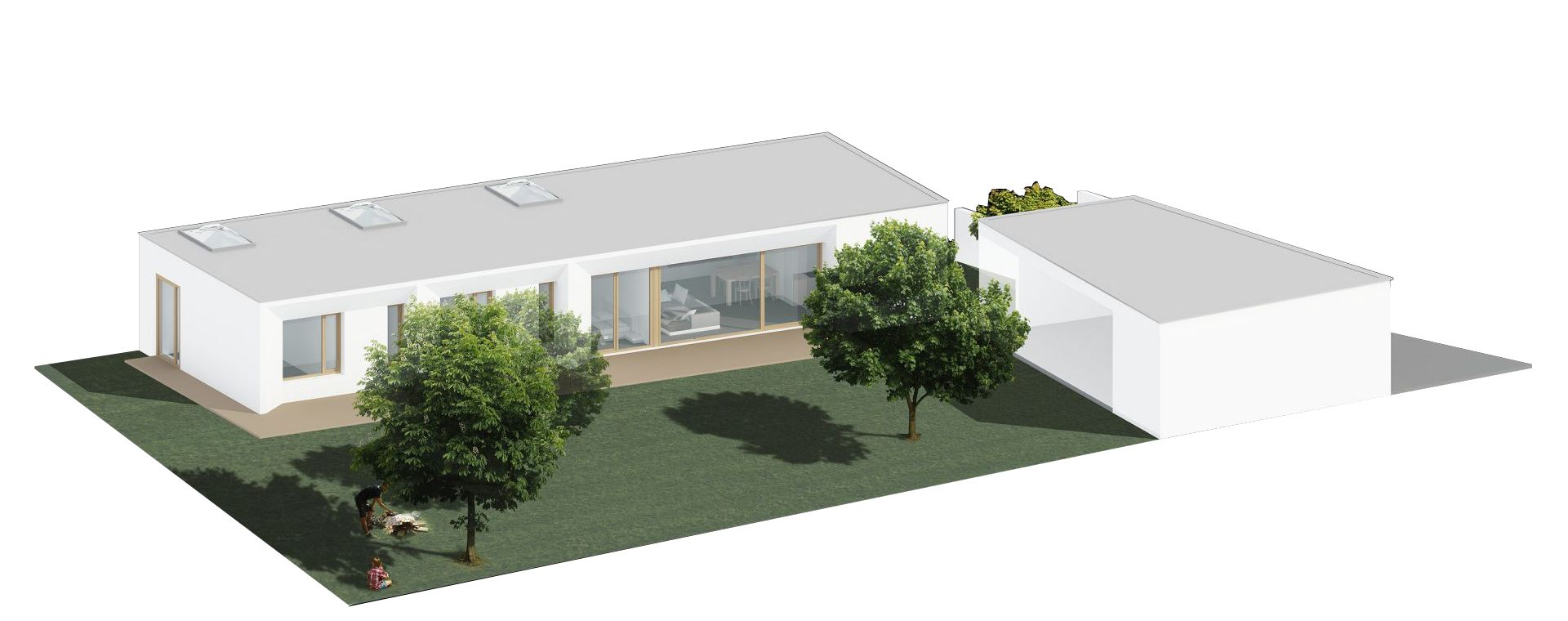 Rodinný dům Neratovice, 2011, CZ