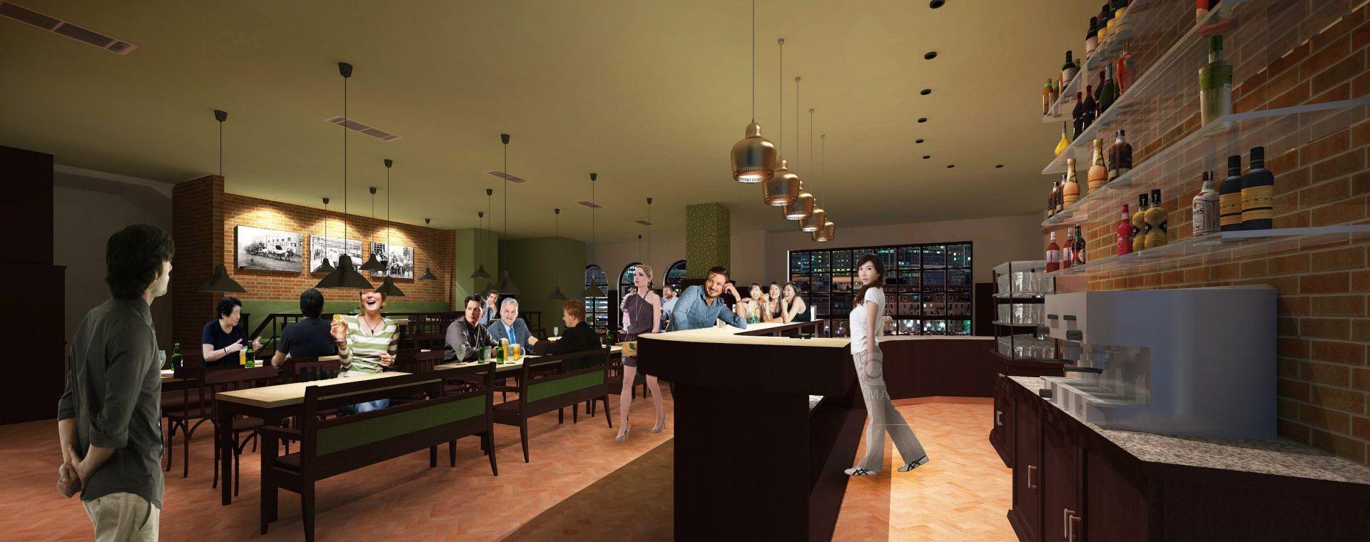 Czech pub in Beiijing, 2013, Beiijing, CHN - cooperation