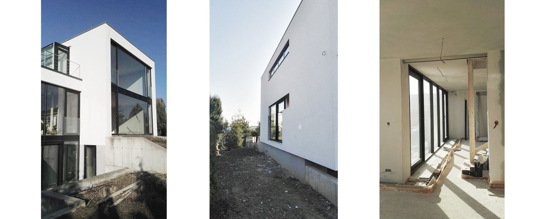 A new vila, Libus, Prague 4 - construction works and extension, 2014-2017, CZ