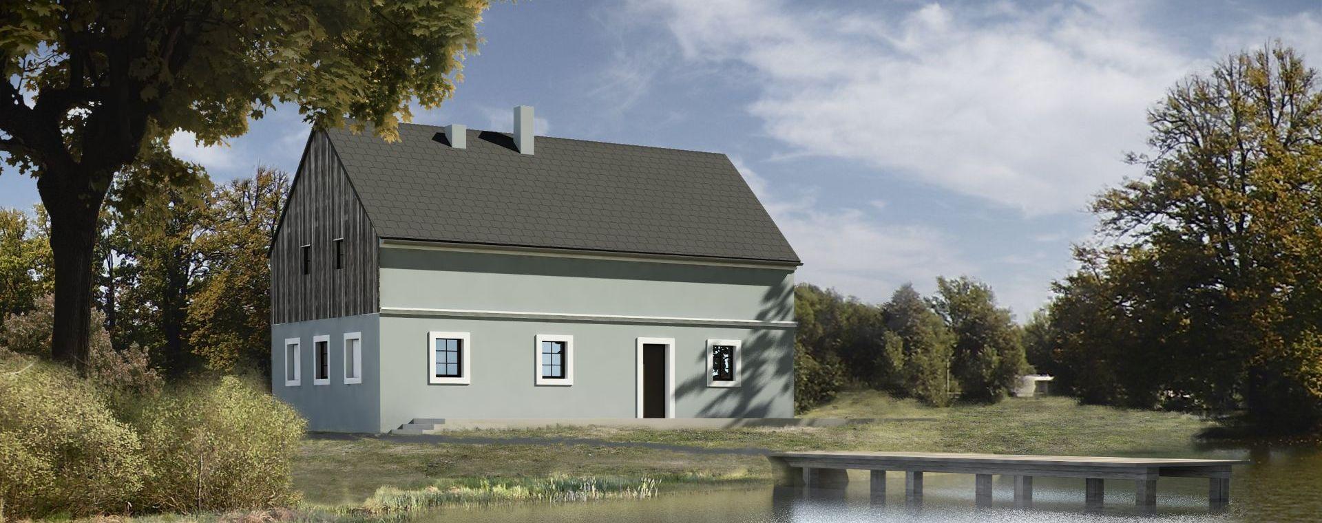 Reconstruction of the classicsm house near Karlovy Vary, 2008-2011, CZ