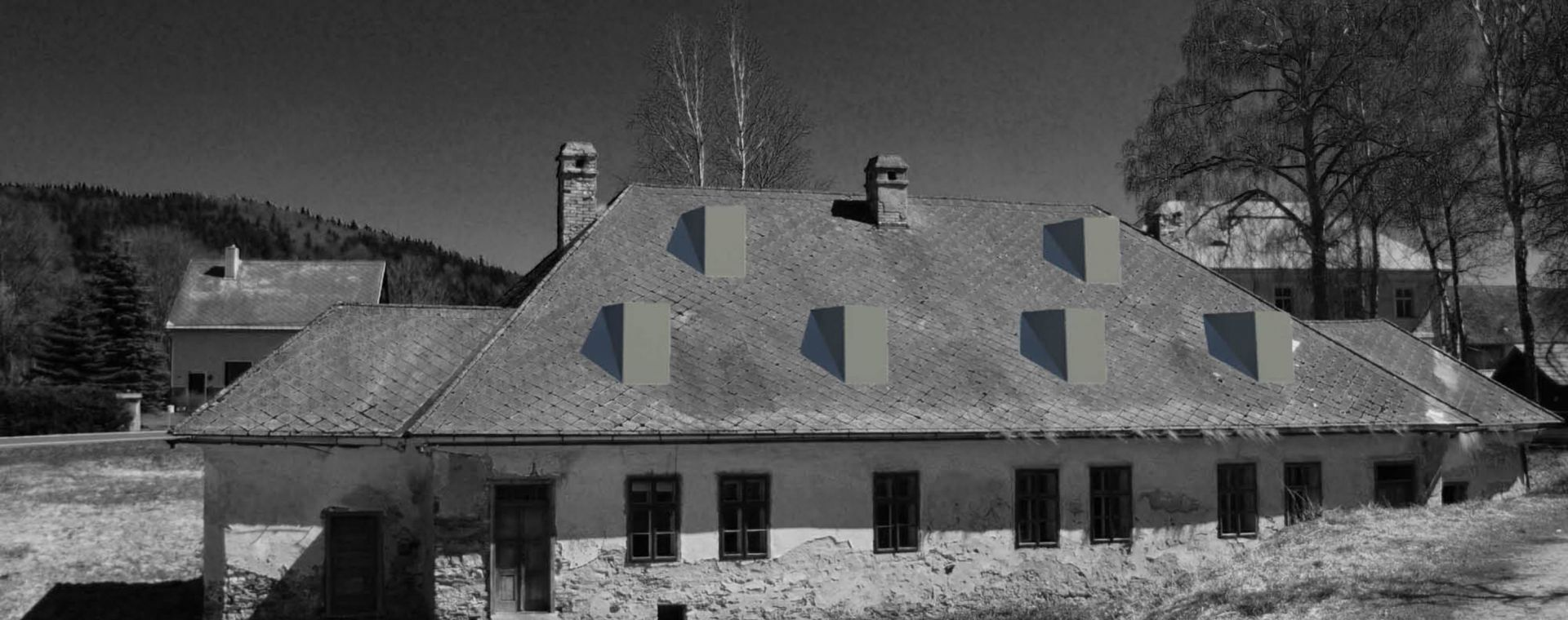 Reconstruction of the classicm house near Milovy, 2010-2012, CZ