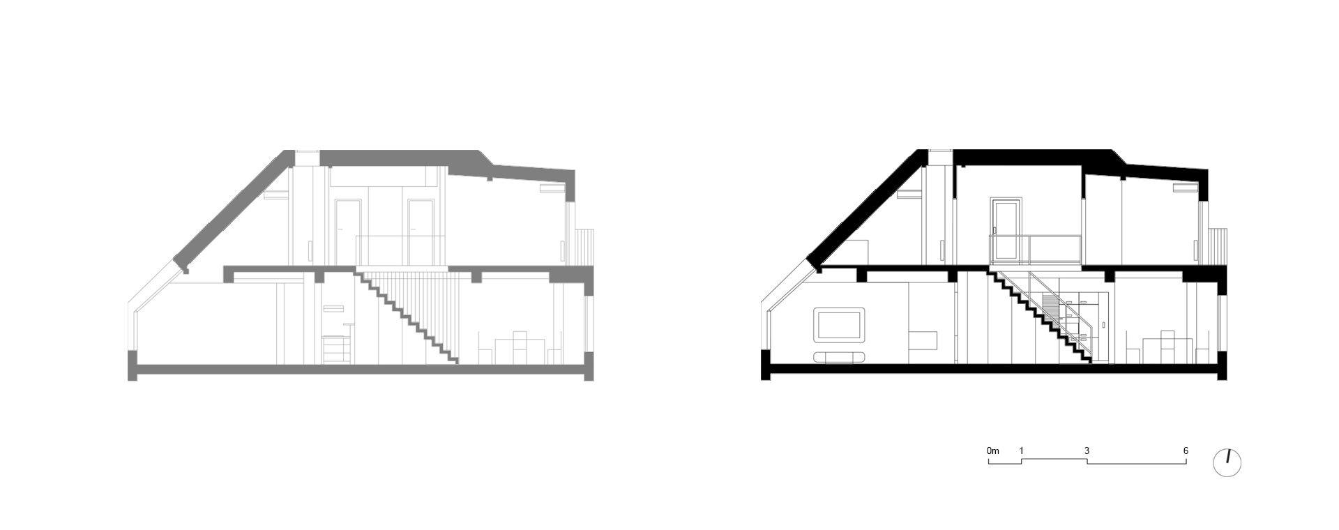 Rekonstrukce bytu Praha Vinohrady, Prague, 2010-2012, CZ