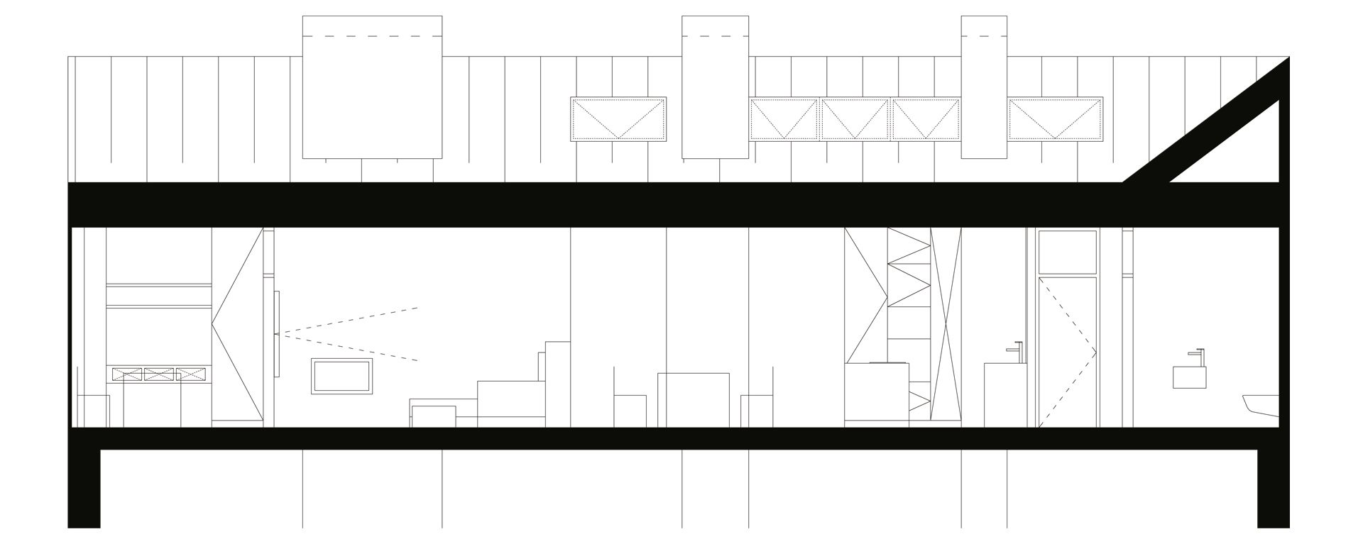 Rekonstrukce bytu, Praha 7 Letná, 2012 -2014, CZ