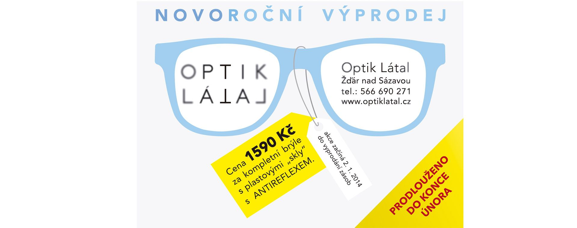 Vizuelní identita a grafický manuál Optika Látal