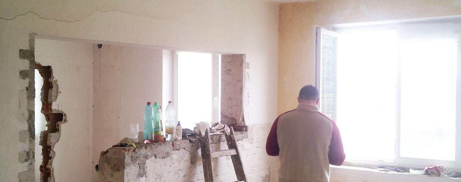 Reconstruction of the apartment on the Náměstí republiky square, Žďár nad Sázavou, 2013-2014, CZ