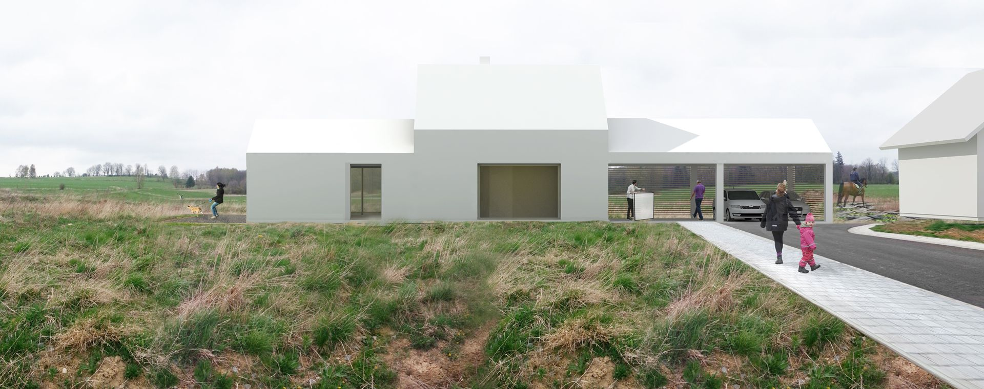 Family house in Pocitky, Vysocina, 2014