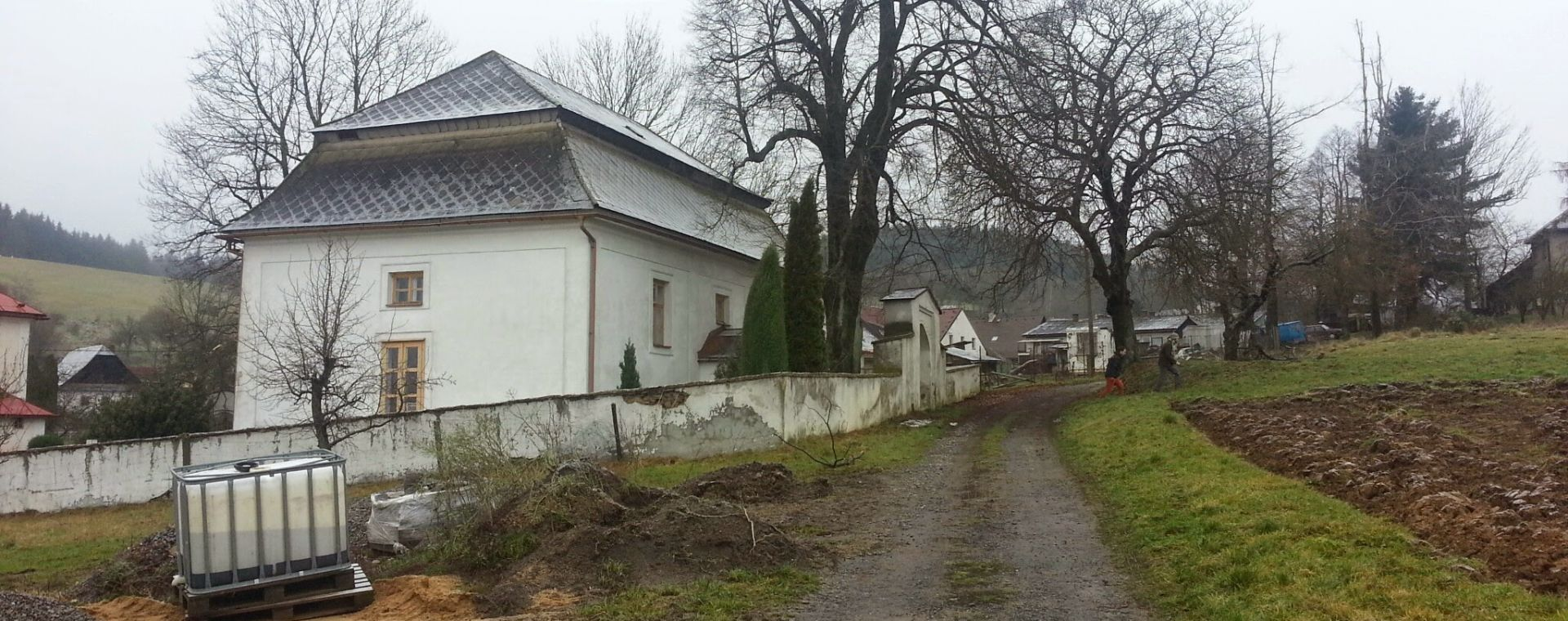 Urban landscape study of the village Dankovice - cooperation, 11/2014, CZ