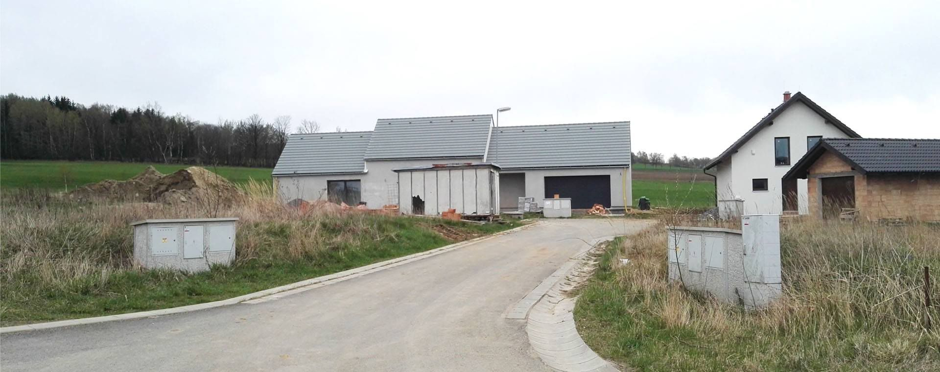 Family house in Pocitky, realization, Počítky, Vysocina region, 2014