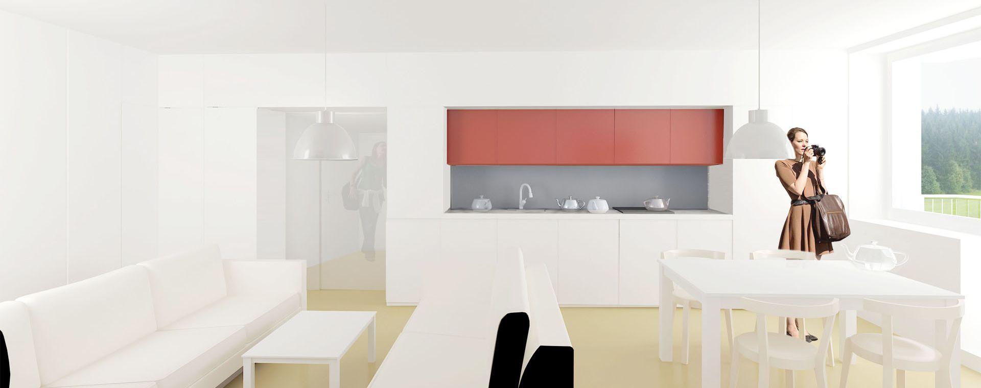 Rekonstrukce bytu 3+1, Štursova, Žďár nad Sázavou, 2014, CZ