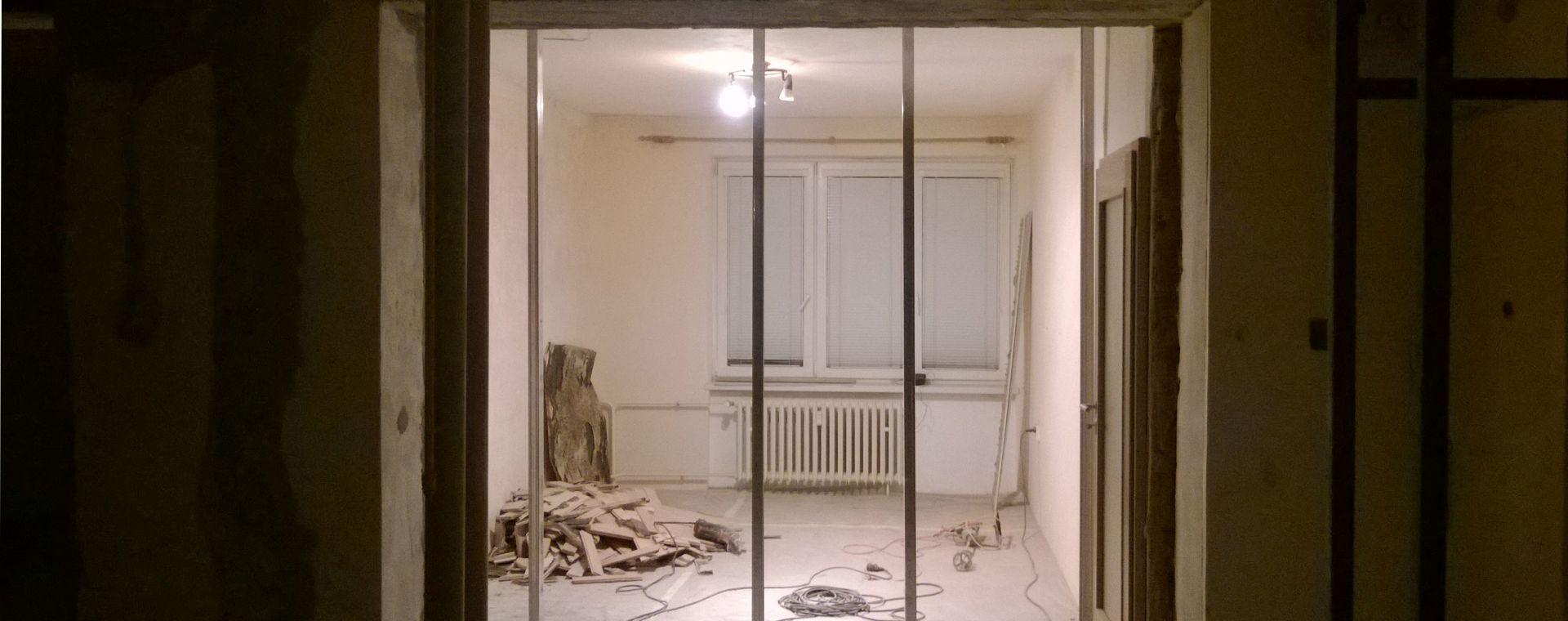 Propojení dvou bytových jednotek 2+1, Žďár nad Sázavou, 2014, CZ