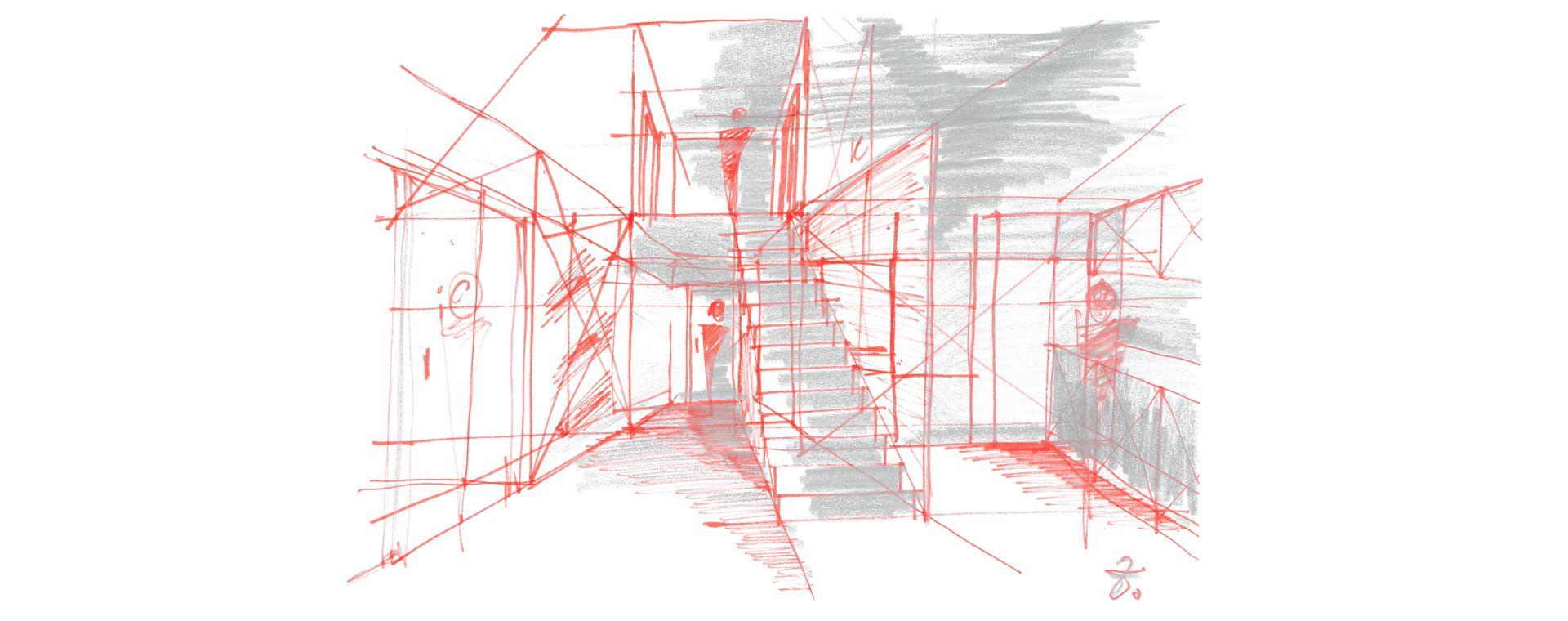 Rekonstrukce bytu 3+1 a podkroví, Veselská, Žďár nad Sázavou, 2014, CZ