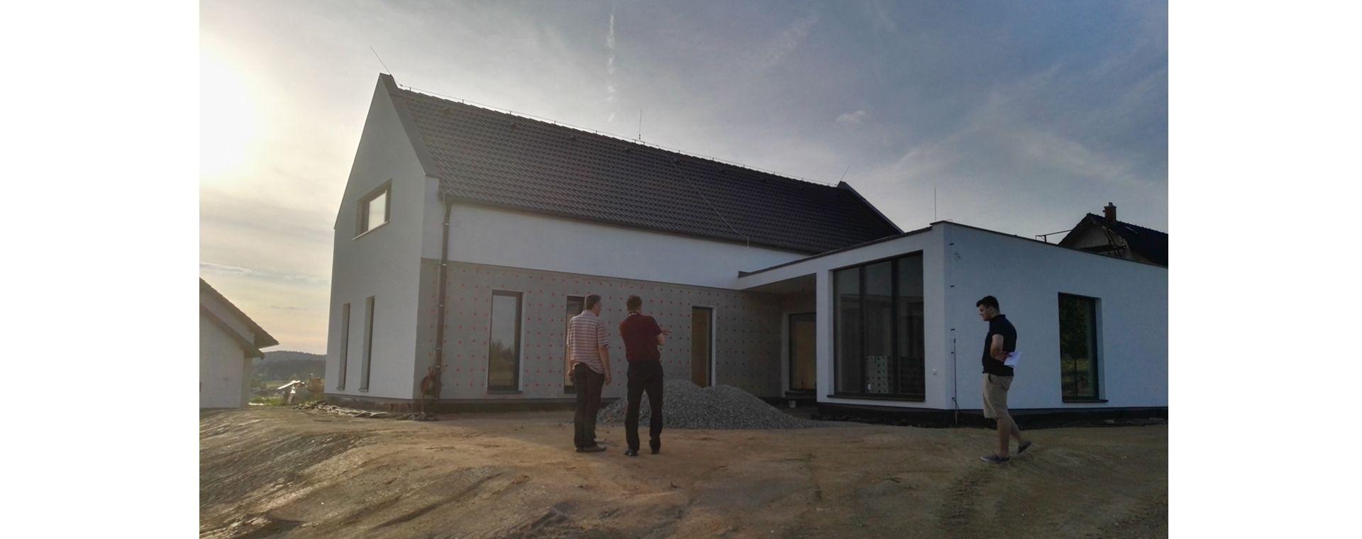 Rodinný dům a zahrada do Hamrů nad Sázavou, 2015-2017, CZ
