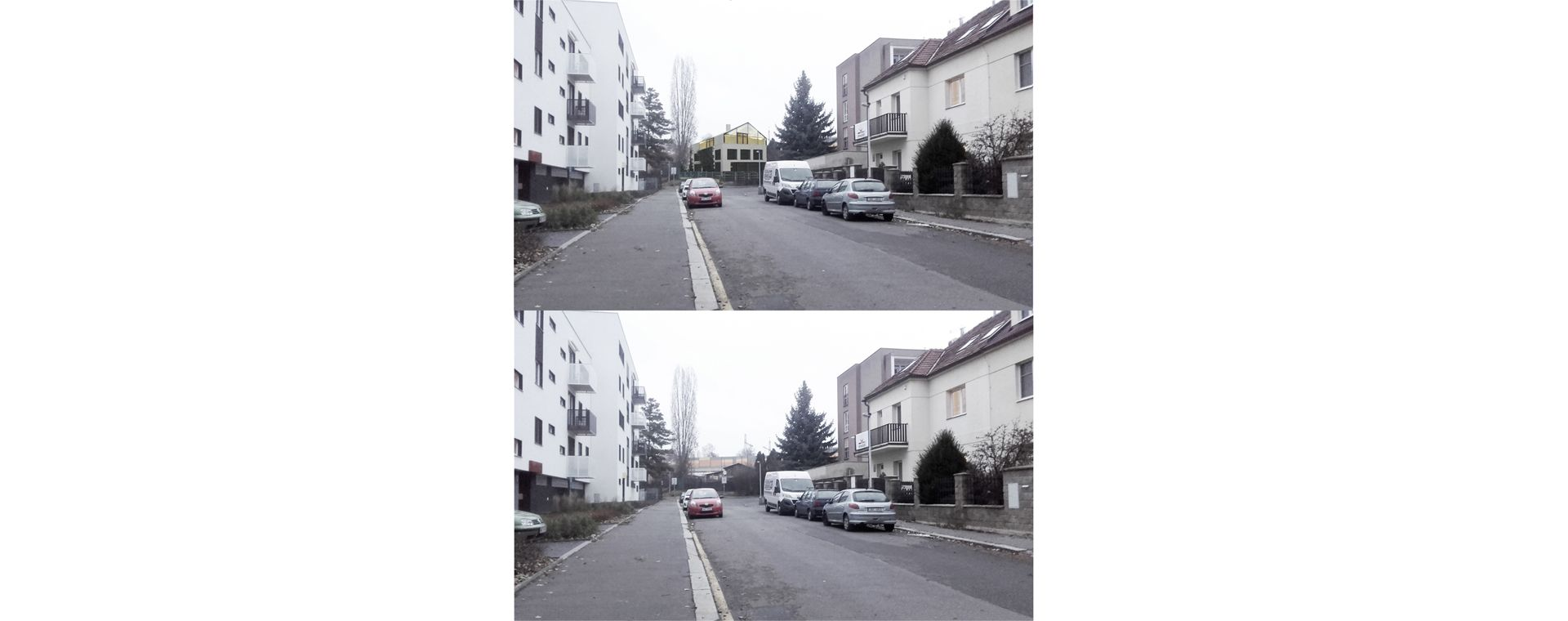 A new villa house, Prague Hostivar, an architectural design / concept, 2016-2018, CZ
