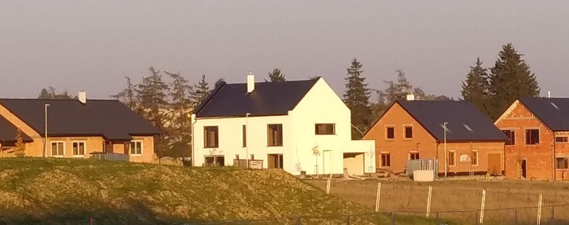 Realizace novostavby rodinného domu / vily do Žďáru nad Sázavou, 2016-2018, CZ