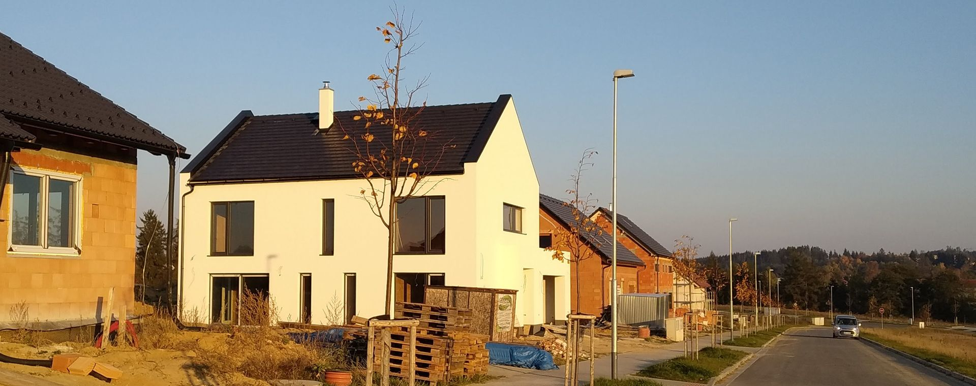 A new family house in Zdar nad Sazavou, 2016-2017, CZ