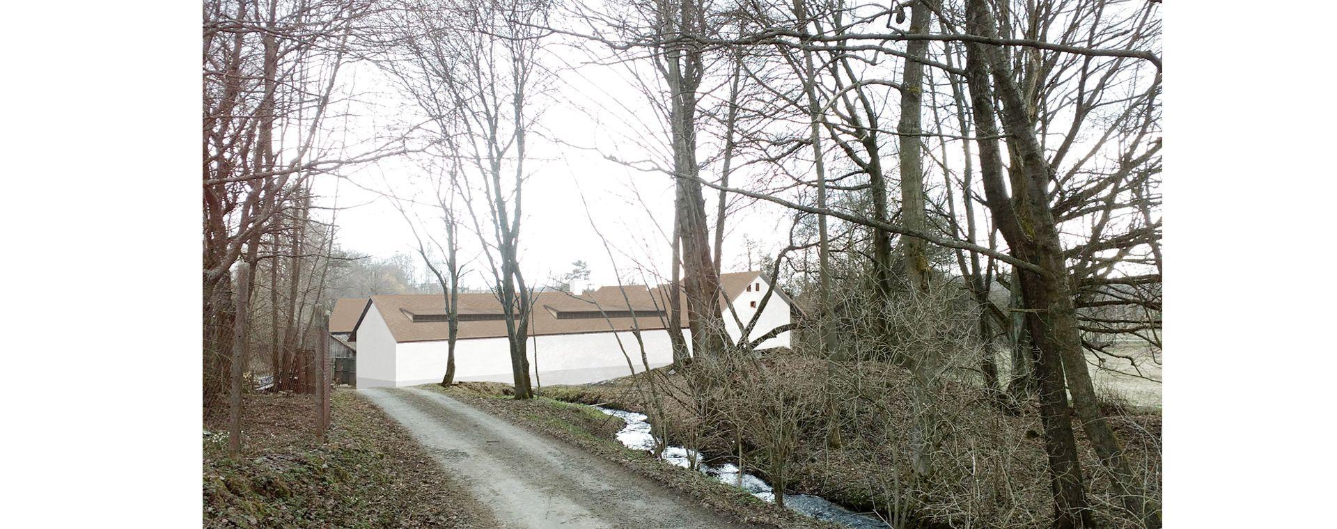 The reconstruction of the mill in Svetnov, 2016-2018, CZ