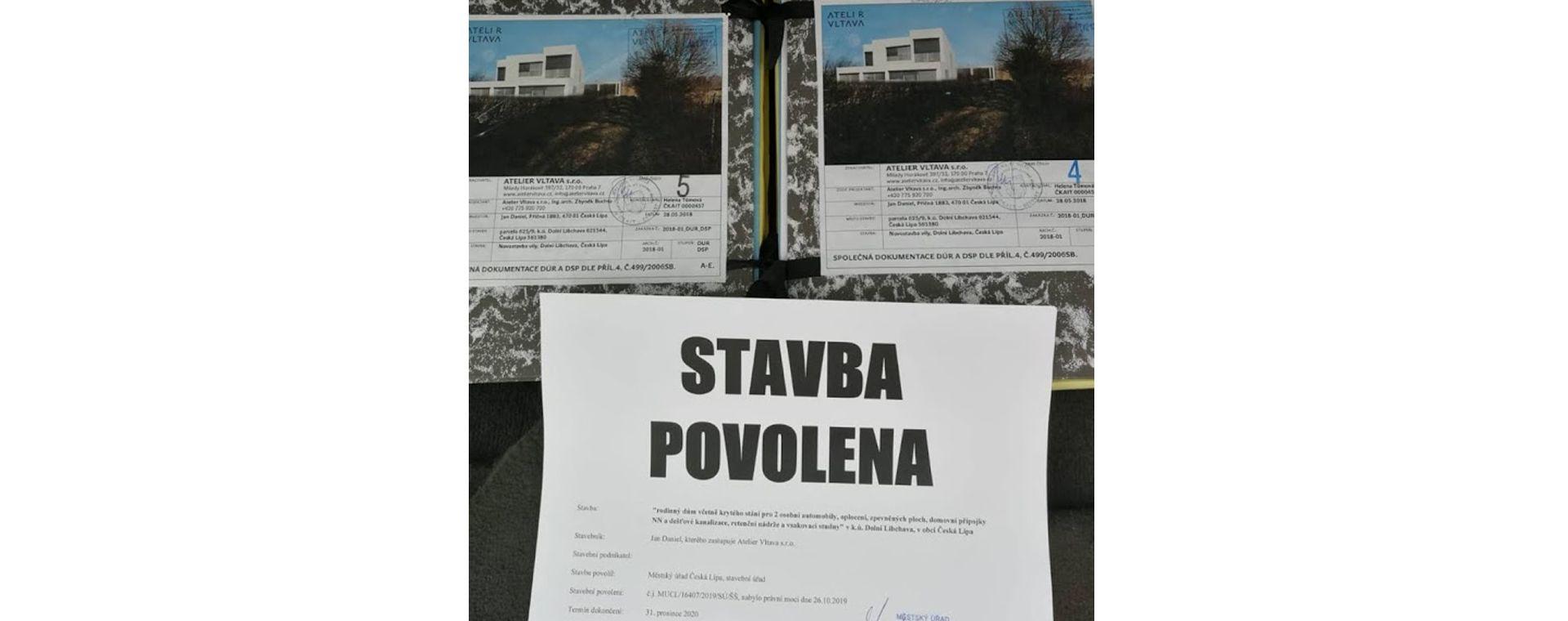 Novostavba vily do České Lípy II, 2017-2019, CZ