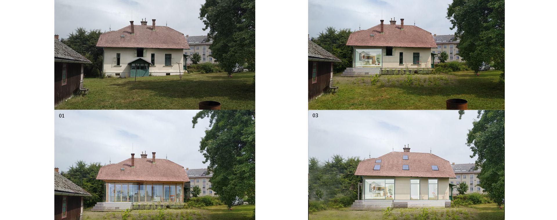 Rekonstrukce vily Králíky, Dolní Morava, 2019-2020, CZ