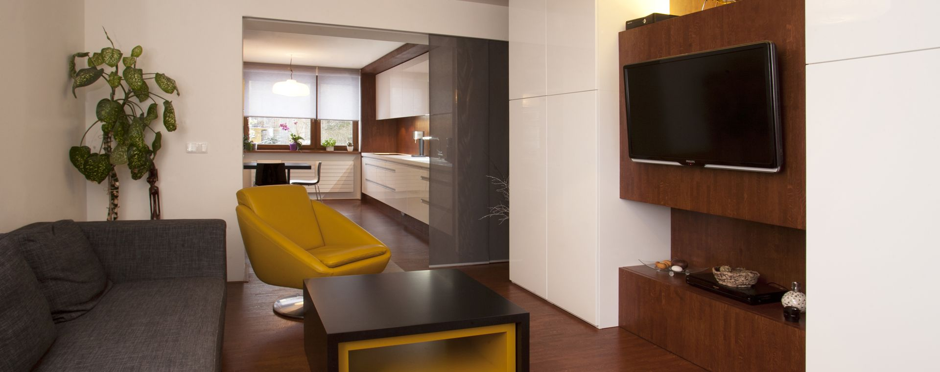 Návrh interieru bytu ve Žďáru nad Sázavou, Kraj Vysočina, 2011-2012, CZ