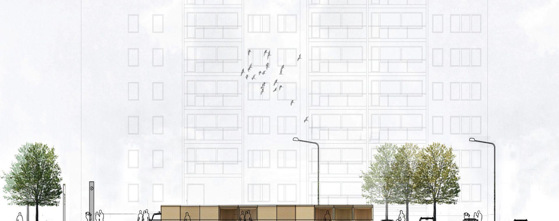 Soutěž o návrh tržnice na náměstí svobody v Kladně, 2014, CZ