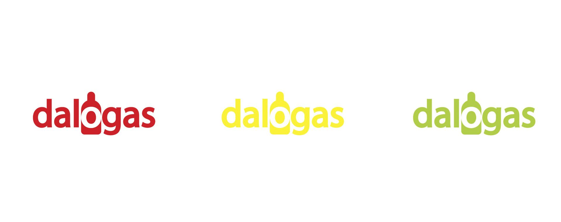 Logotype for Dalogas Ltd., 2013, CZ