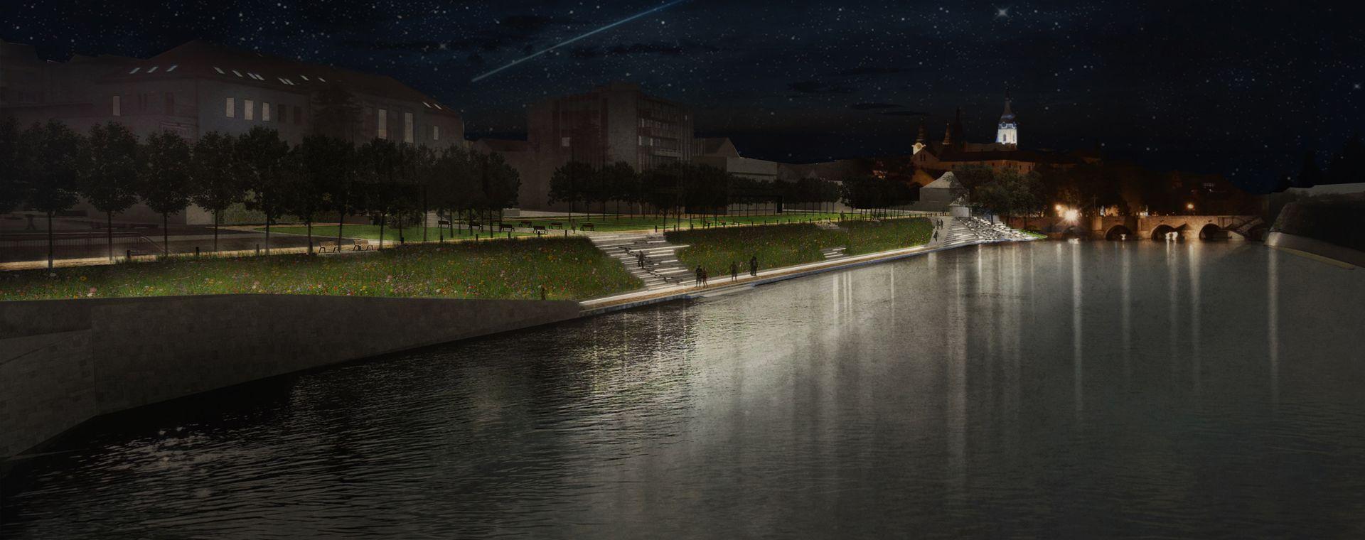 Architektonická soutěž do Písku, Jižní Čechy, 10/2013, CZ - 3.místo, připravujeme realizaci na 2016-2018!