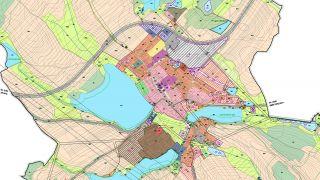 Návrh nového územního plánu obce Bohdalov, spolupráce, Vysočina, 10/2014, CZ