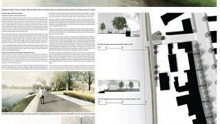 Architektonická soutěž Plánské Nábřeží , 03/2015, CZ - 2. místo