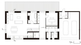 Studie rodinného domu s právní kanceláří Hamry nad Sázavou, kraj Vysočina, 2013-2014, CZ