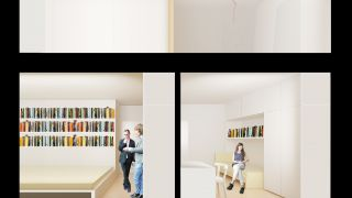 Reconstruction of two apartments to get duplex/maisonette/mezenot, Petriny, Praha, 2014, CZ