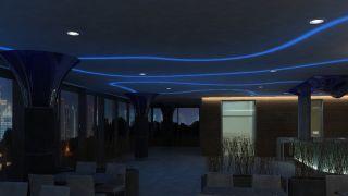 Wellness Pardubice - světelný design