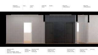 Realization of the flat Barrandov, Prague 5, 2012-2013, CZ