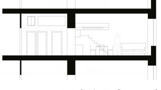 Rekonstrukce bytu 2+1, 3.np a 4.np, Praha 7, 2012-2014, CZ