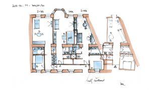 Koncept studie 3 bytů - Milady Horákové, 2014, CZ