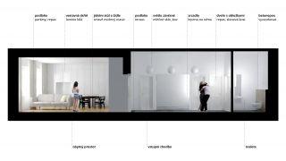 Apartment 2+kk reconstruction, Prague 10 Vrsovice, 2014, CZ
