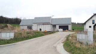 Novostavba rodinného domu v Počítkách, kraj Vysočina, 2014