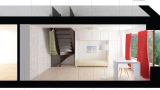 Návrh stavebních úprav bytové jednotky 4+kk ve Žďáru nad Sázavou
