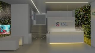 Competetion - The reconstruction of the SFDI and SŽDC office building in Prague 9 - an architectural concept, study, Prague - 1st place , 08/2017, CZ