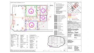 Náš architektonický atelier v Korunovační ulici 15 ve výstavbě, Praha 7, 2018-2020, CZ