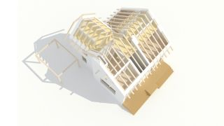 Reconstruction, renovation of the villa in Králíky, Dolní Morava, 2019-2020, CZ