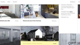 Website for Atelier Vltava