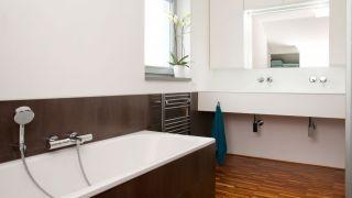 The realization of the bathroom, Vysočina region, 2012, CZ