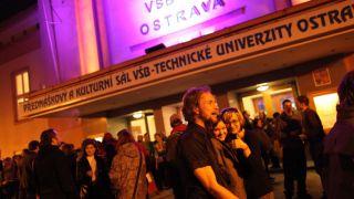 Pecha Kucha night Ostrava vol.3 - lighting design, cooperation with Philips lighting CZ, 2011, CZ