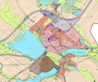 Atelier Vltava is asked to make a new proposal of masterplan of Bohdalov, Vysočina, 10/2014, CZ