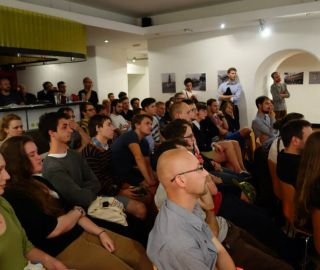 The discussion the polish and poverty of czech architectural competetions took place, 18/09/2014, Prague, CZ