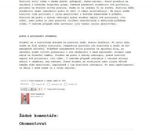 Week in the reality, week in Atelier Vltava 06/2014, CZ