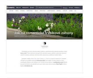 Atelier Vltava at Homepix.cz website, 05/2015, CZ