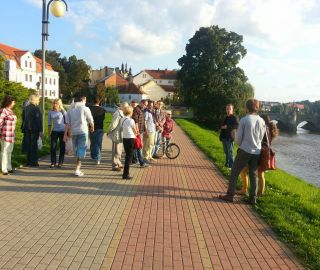 Atelier Vltava presented for second time the project of rightside embankment in Pisek for public