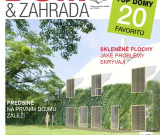 Architectural office Atelier Vltava in the magazine House and gardens EN / Dům a zahrada CZ, 09-10/2014, 08/2014, CZ